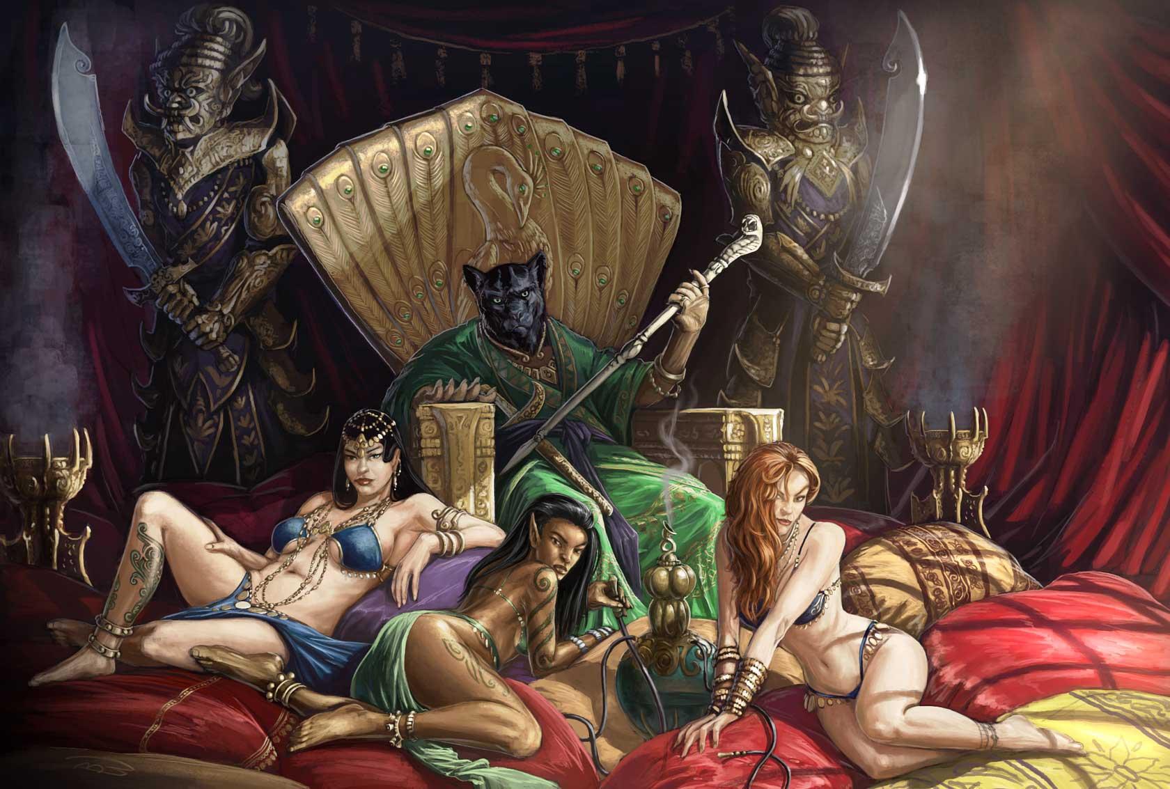ラークシャサ 脅威度10 Rakshasa